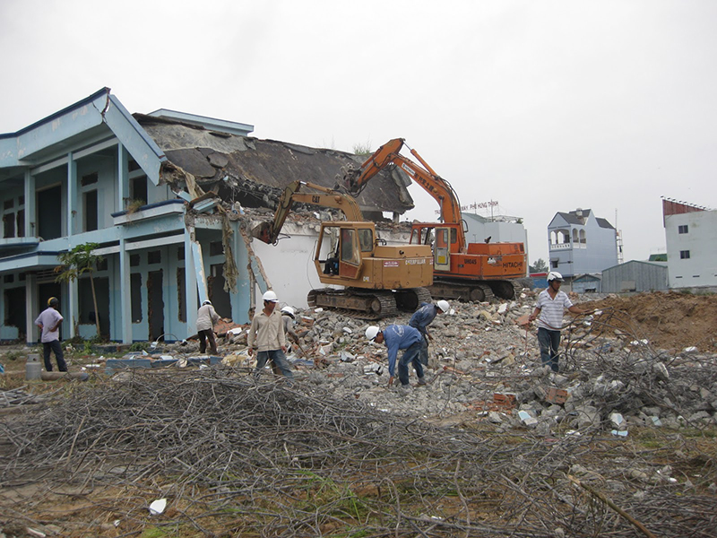 Dịch vụ thu mua xác nhà cũ giá cao tại TPHCM