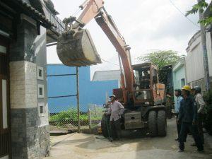 Công ty tháo dỡ nhà xưởng tại quận 4