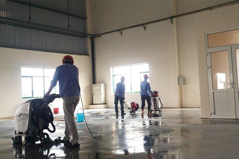 Dọn rác công trình giá rẻ tại Huyện Bình Chánh