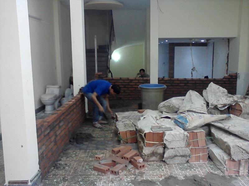 Đơn vị dọn rác công trình